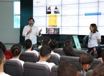 Hospital Nina Rodrigues conversa com alunos sobre luta antimanicomial e prevenção da depressão