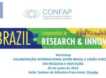 Paraíba sediará Workshop Colaboração Internacional entre Brasil e União Europeia em Pesquisa e Inovação