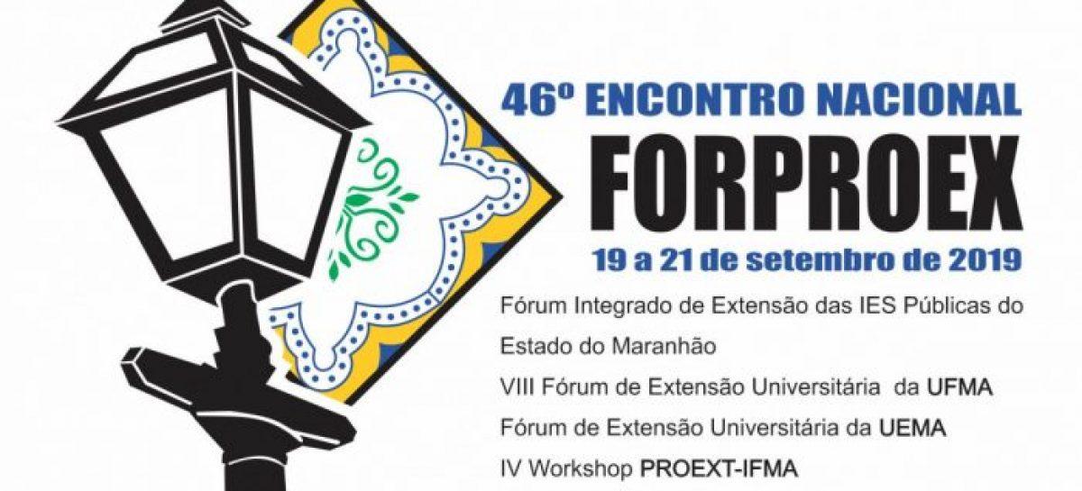 Estão abertas as inscrições de trabalhos para o VIII Fórum de Extensão da UFMA