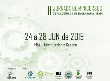 Estão abertas as inscrições para II Jornada de minicursos de Engenharia