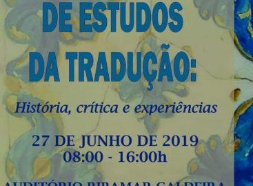 I Encontro de Estudos da Tradução será realizado nesta quinta-feira