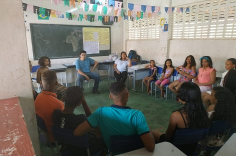 Alunos do curso de História da UEMA levam oficinas sobre educação quilombola à comunidade de Alcântara