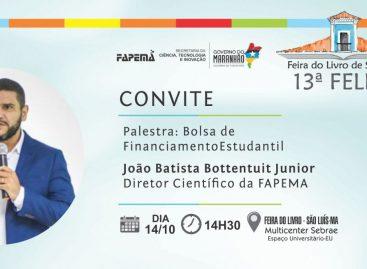 Diretor Científico da FAPEMA ministra nesta segunda-feira (14) palestra sobre Bolsa de Financiamento Estudantil na FeliS