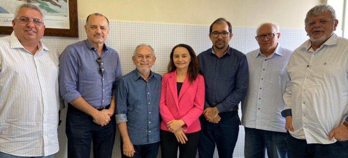 Diretor-presidente da FAPEMA recebe diretoria da Academia Maranhense de Ciência
