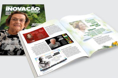 Revista Inovação Nº 38 – Jardins de Cura – Prêmio Fapema 15 Anos