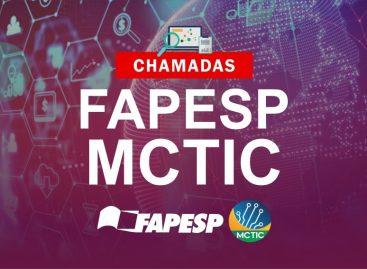 Oportunidade! Quatro chamadas abertas pela FAPESP/MCTIC