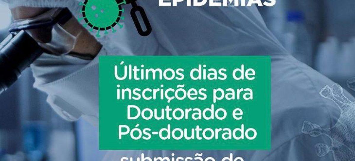 Encerra na próxima quinta-feira (30) inscrições para o edital Epidemias lançado pela Capes