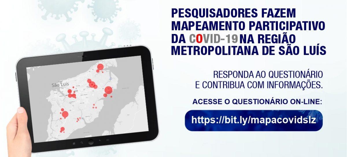 COVID-19: Mais de 14% dos pesquisados na grande São Luís afirmam ter, em casa, pessoas com suspeita ou confirmados