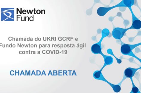 UK Research and Innovation (UKRI) lança Chamada de Pesquisa para Respostas Rápidas ao COVID-19