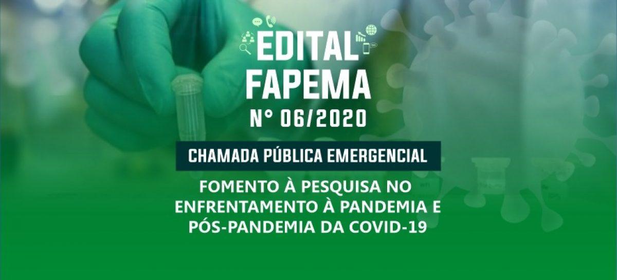 Governo do Estado financia projetos de pesquisa para o enfrentamento da Covid-19 por meio de edital da FAPEMA