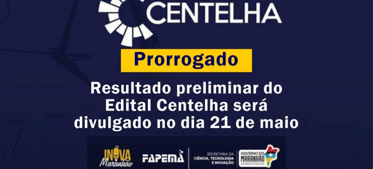 Resultado preliminar da primeira fase do Edital Centelha será divulgado na próxima quinta-feira (21)