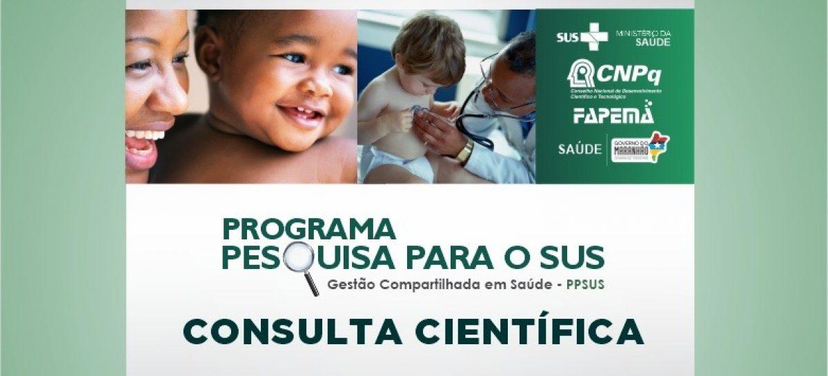 PPSUS-2020: FAPEMA abre consulta à comunidade cientifica sobre linhas de pesquisa