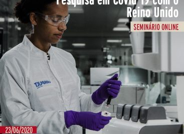 Covid-19: Seminário Online mostra oportunidades para pesquisadores brasileiros e britânicos