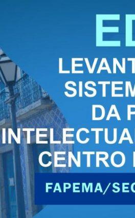 Produção Intelectual sobre Cento Histórico: encerra nesta sexta-feira (17) prazo para submissão de propostas ao edital