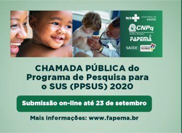 Abertas as inscrições para 7ª edição do Programa Pesquisa para o SUS – PPSUS