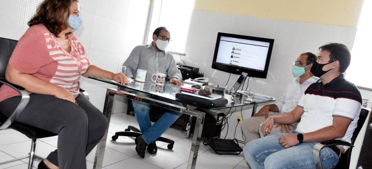 Novo cenário da pós-graduação e iniciação científica é pauta de reunião da FAPEMA com Universidade Ceuma