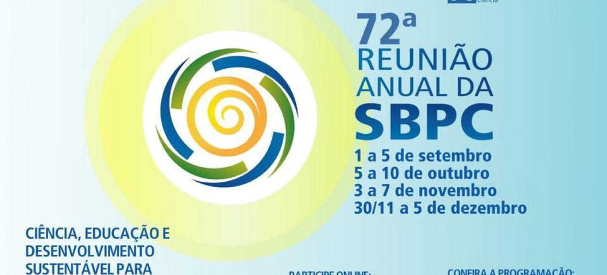 72ª Reunião Anual da SBPC começa nesta terça-feira com transmissões online