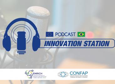 CONFAP e ENRICH in Brazil lançam Podcast que aborda prioridades e desafios mútuos de PD&I entre a União Europeia e o Brasil