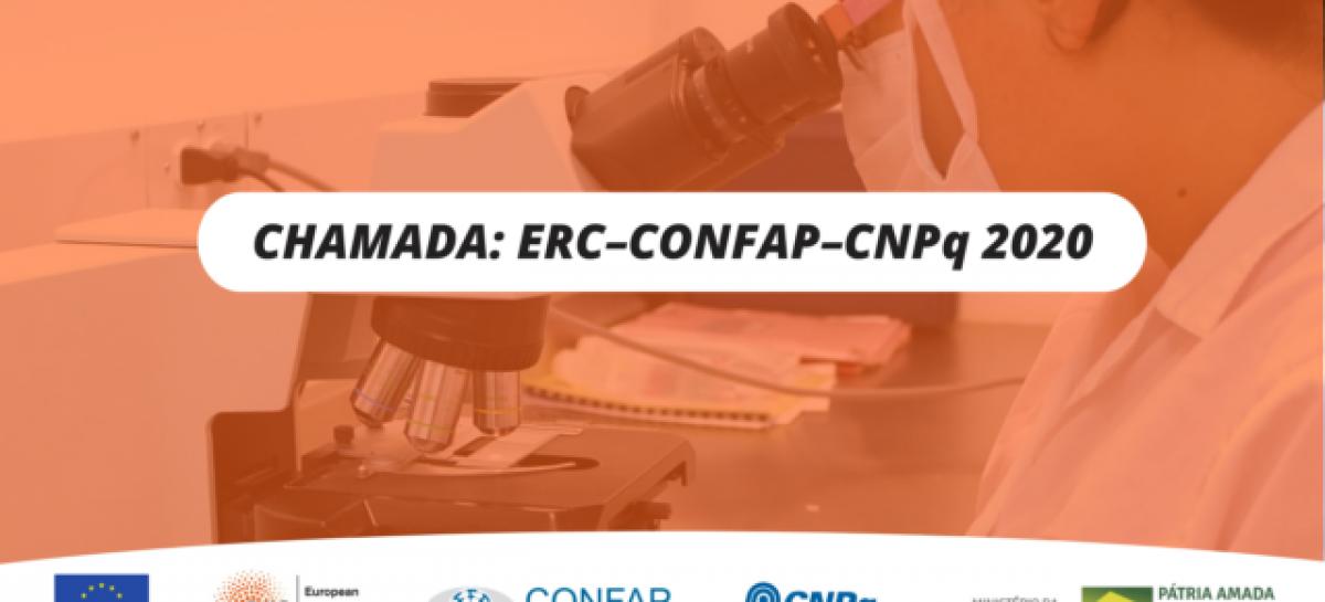 CONFAP e CNPq lançam chamada para pesquisadores doutores integrarem projetos financiados pelo Conselho Europeu de Pesquisa