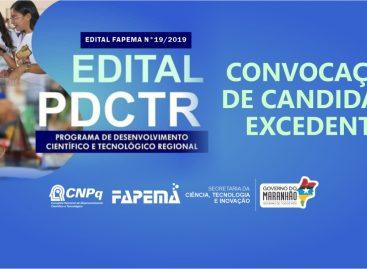 Convocação de candidato excedente no Edital nº 19/2019 – PDCTR
