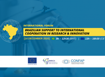 """Fórum Internacional """"Brazilian Support to International Cooperation in Research & Innovation"""""""