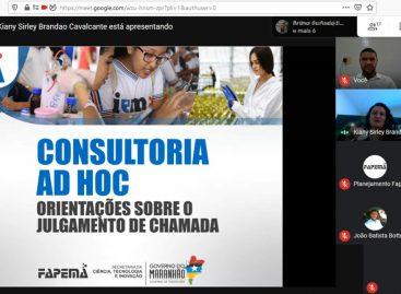 Fapema realiza abertura do Comitê de Avaliação das propostas submetidas para bolsa de mestrado no país