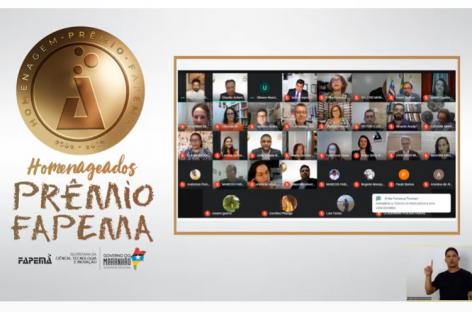 Pesquisadores maranhenses recebem homenagem da Fapema em evento on-line