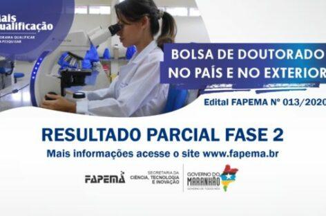 FAPEMA divulga resultado parcial fase 2 do edital de Bolsas de Doutorado