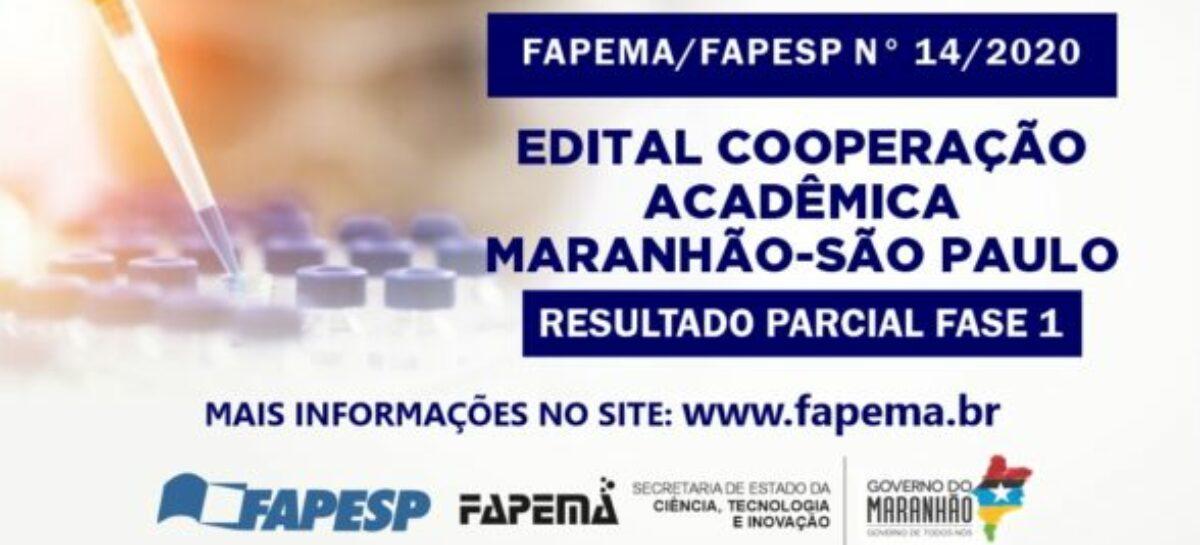 FAPEMA E FAPESP divulgam resultado parcial fase 1 do edital de cooperação acadêmica