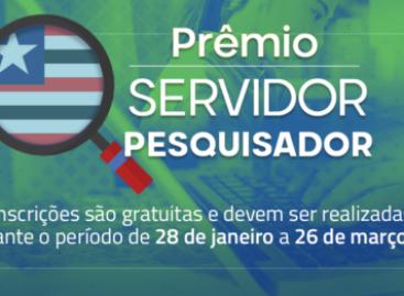 Governo lança edital do Prêmio Servidor Pesquisador