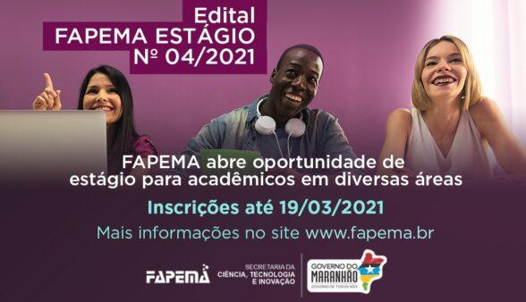 FAPEMA abre oportunidade de estágio para acadêmicos em diversas áreas