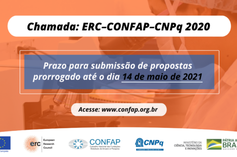 CONFAP e CNPq prorrogam prazo de submissão de propostas para a chamada ERC-Confap-CNPq 2020