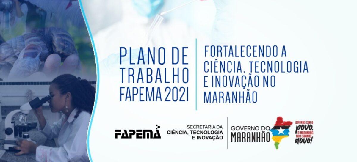 FAPEMA lança Plano de Trabalho 2021 nesta quarta-feira (10)