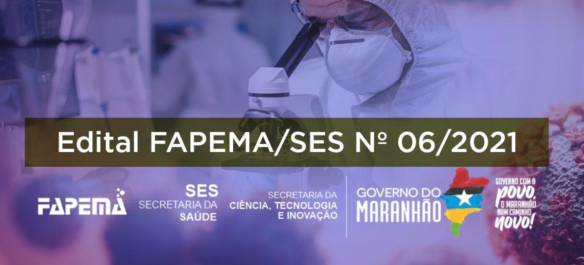 FAPEMA abre chamada pública emergencial para seleção de estudantes e profissionais da Saúde