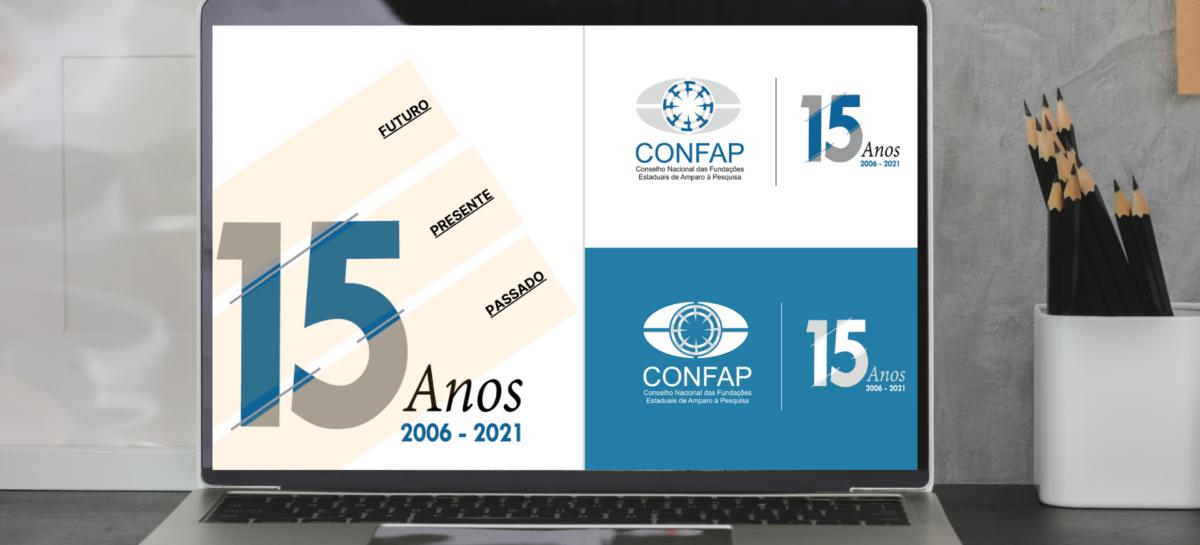Conselho Nacional das Fundações Estaduais de Amparo à Pesquisa (Confap) celebra 15 anos de história