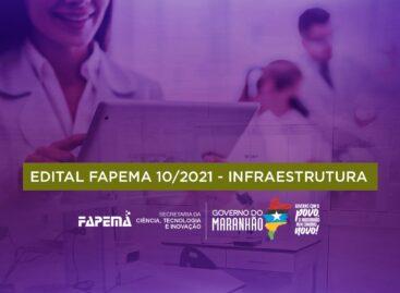 FAPEMA lança edital de fomento à recuperação e modernização da infraestrutura para pesquisa