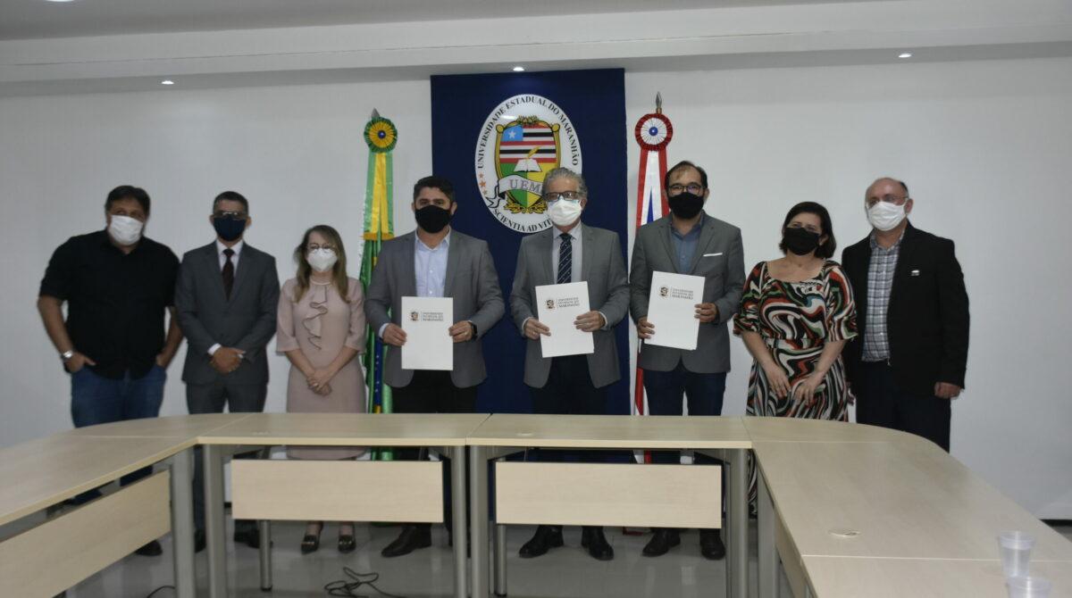 FAPEMA firma convênio com UEMA e SAGRIMA para concessão de bolsas de estágio