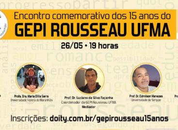 Grupo de Estudo e Pesquisa sobre Rousseau realiza evento comemorativo dos 15 anos na UFMA