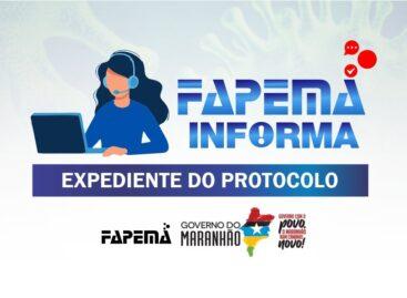 FAPEMA INFORMA: Atendimento do setor Protocolo não necessita de agendamento on-line