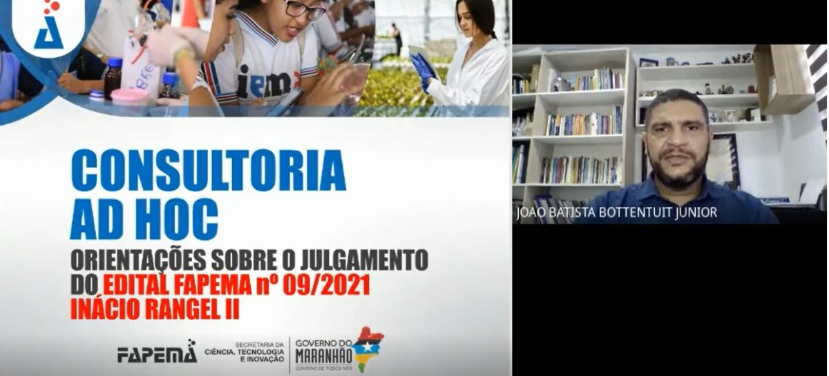 Fapema realiza comitê de julgamento das propostas submetidas à 2ª edição do edital Ignácio Rangel