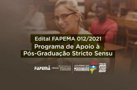 FAPEMA lança edital de apoio a programas de mestrado e doutorado