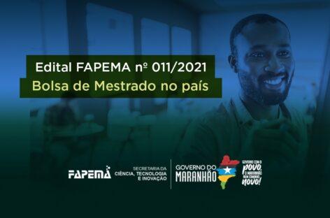 Fapema prorroga inscrições ao edital de bolsa de mestrado no país