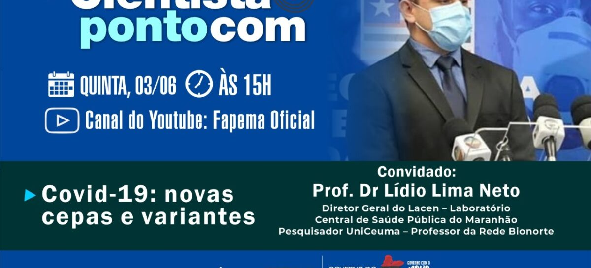 Programa Cientista Pontocom entrevista o diretor do LACEN/MA