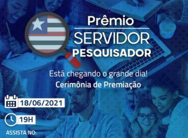 Servidor Pesquisador: cerimônia de premiação acontece nesta sexta-feira (18)