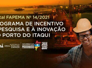 FAPEMA e EMAP lançam edital com bolsas de R$4.000 para profissionais de diversas áreas
