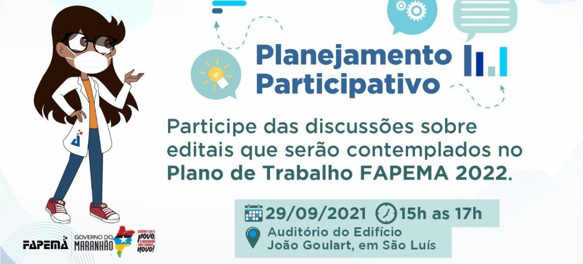 FAPEMA debate com pesquisadores do IFMA e da UEMA Plano de Trabalho para 2022 nesta quarta (29)